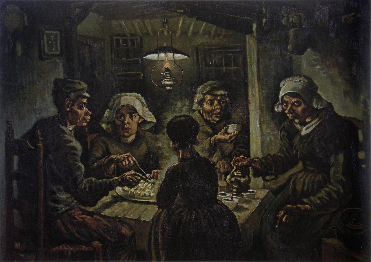 Van Gogh y la sopa de patata (ESP)