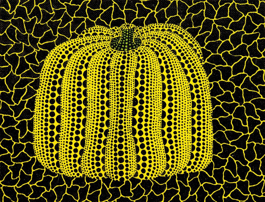 Pumpkin, Yayoi Kusama, 1994.