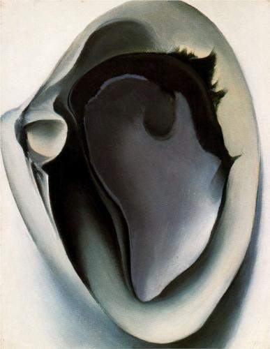 Georgia O'Keeffe o los Tallarines Negros