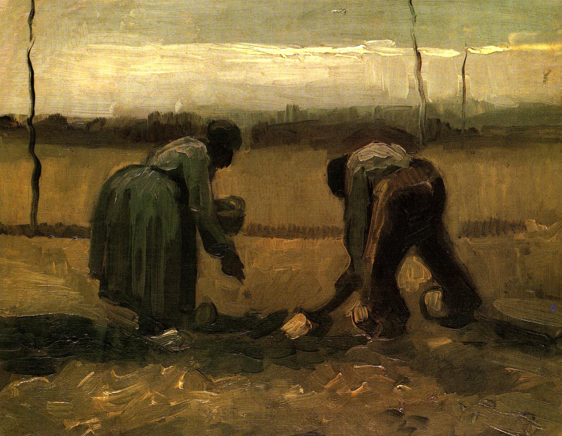 Van Gogh i la coca de patata (cat)