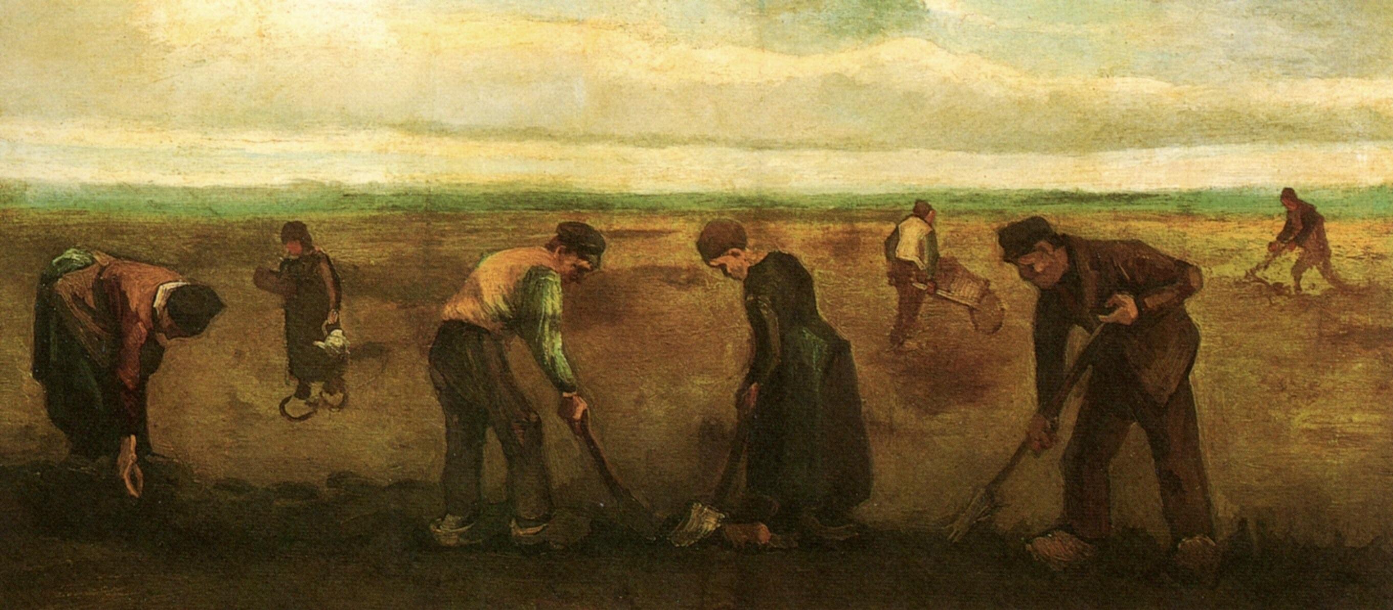Van Gogh y la coca de patata (ESP)