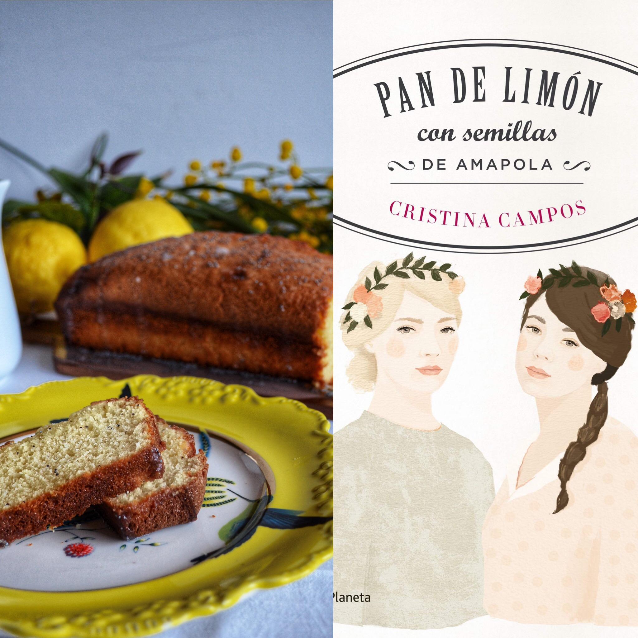 Pan de limón con semillas de Amapola (Sant Jordi)