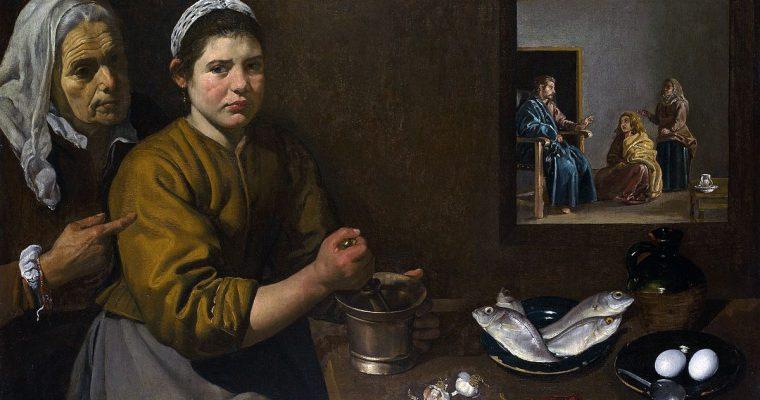 Velázquez i el bacallà gratinat (CAT)