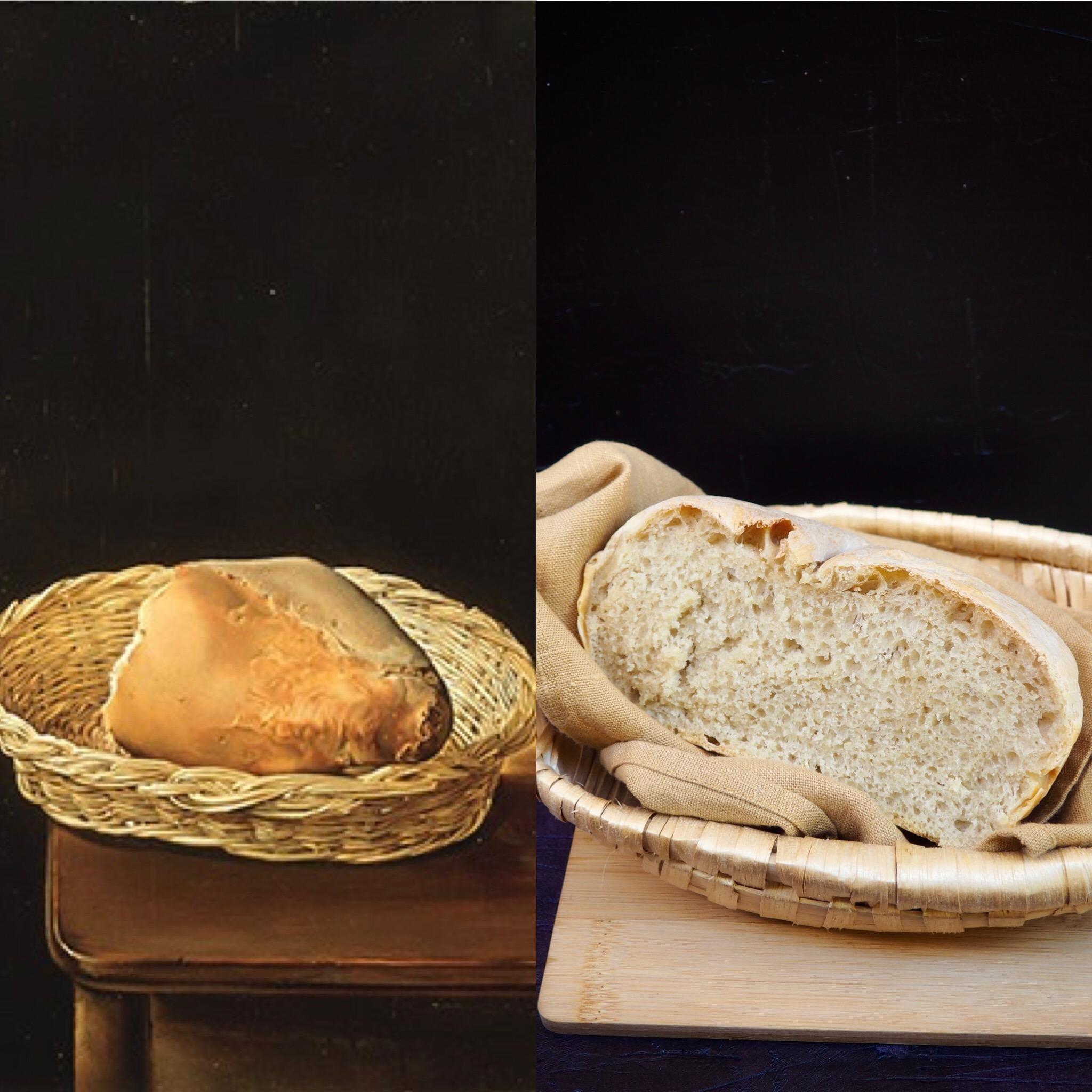Salvador Dalí y la cesta de pan (ESP)