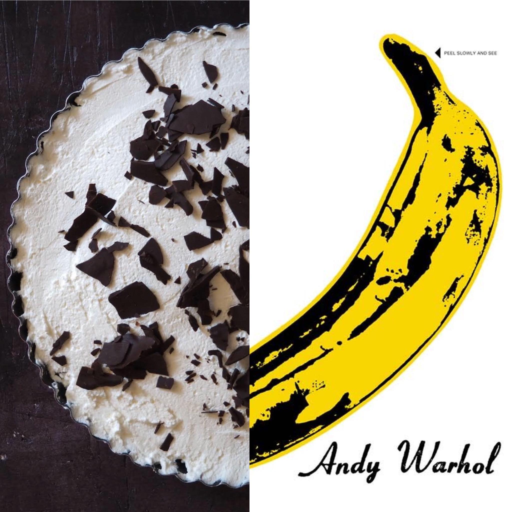 Menú Andy Warhol (II): Pastís Banoffee (CAT)