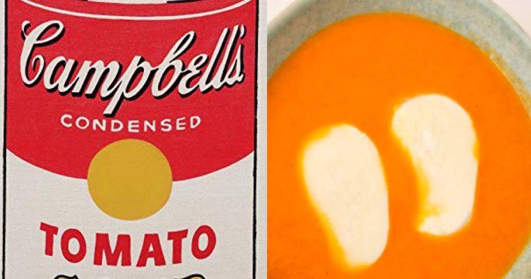 Menú Andy Warhol I: La sopa de tomate (ESP)