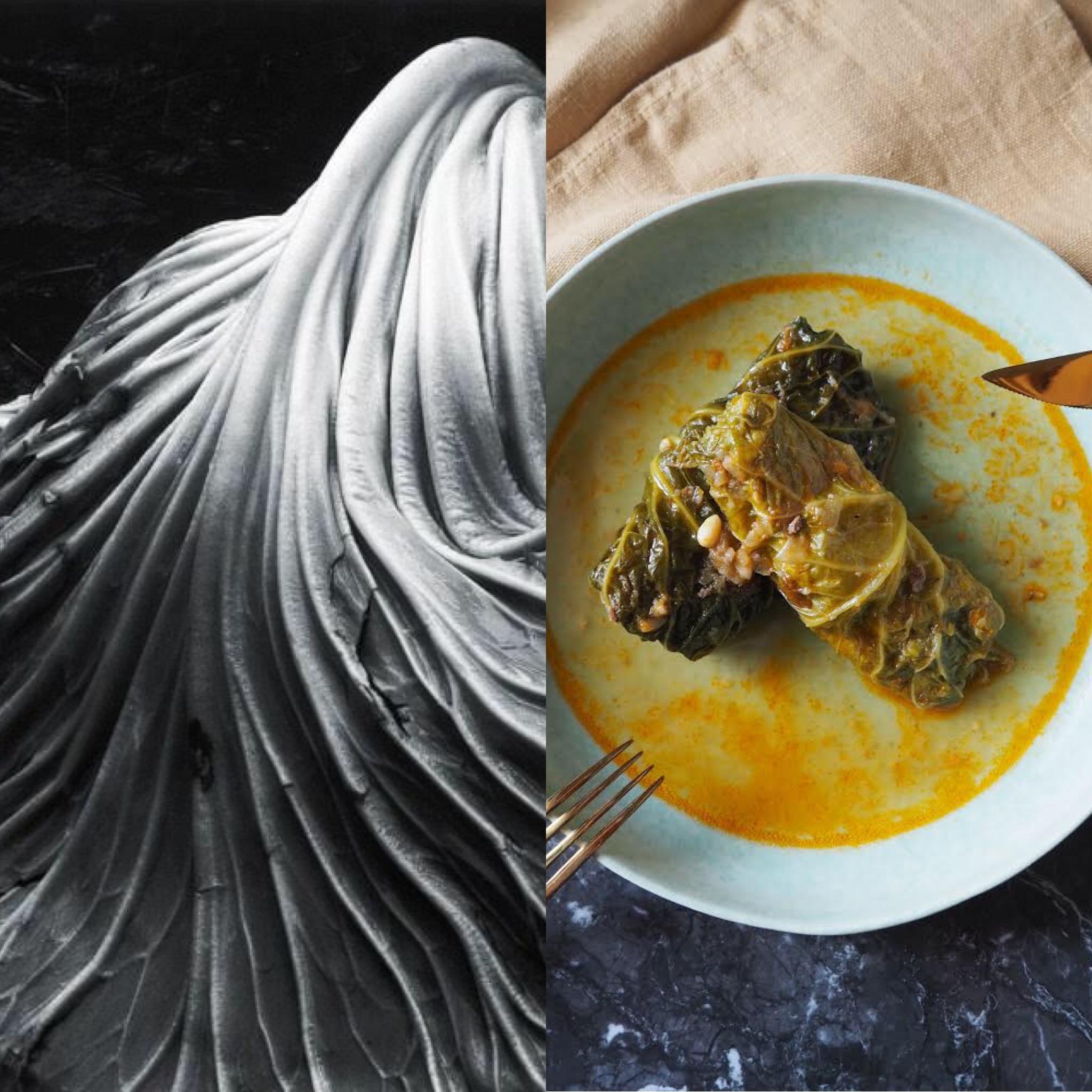 Menú Edward Weston (II): Llom amb col (ESP)