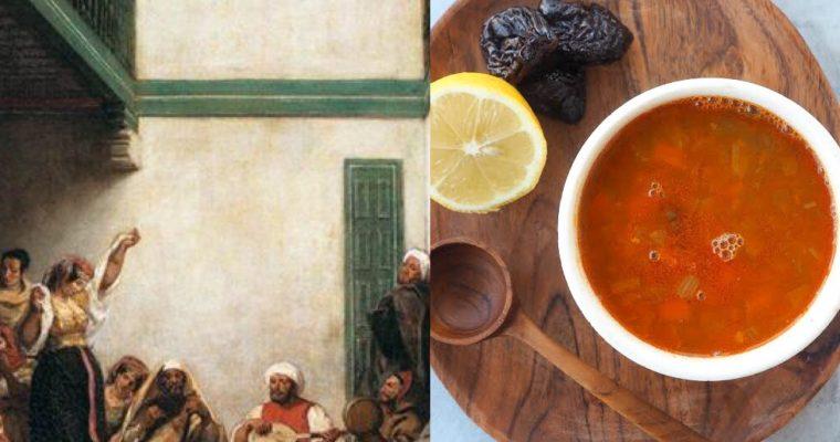 Delacroix, Marraquech y la Sopa Harira (ESP)