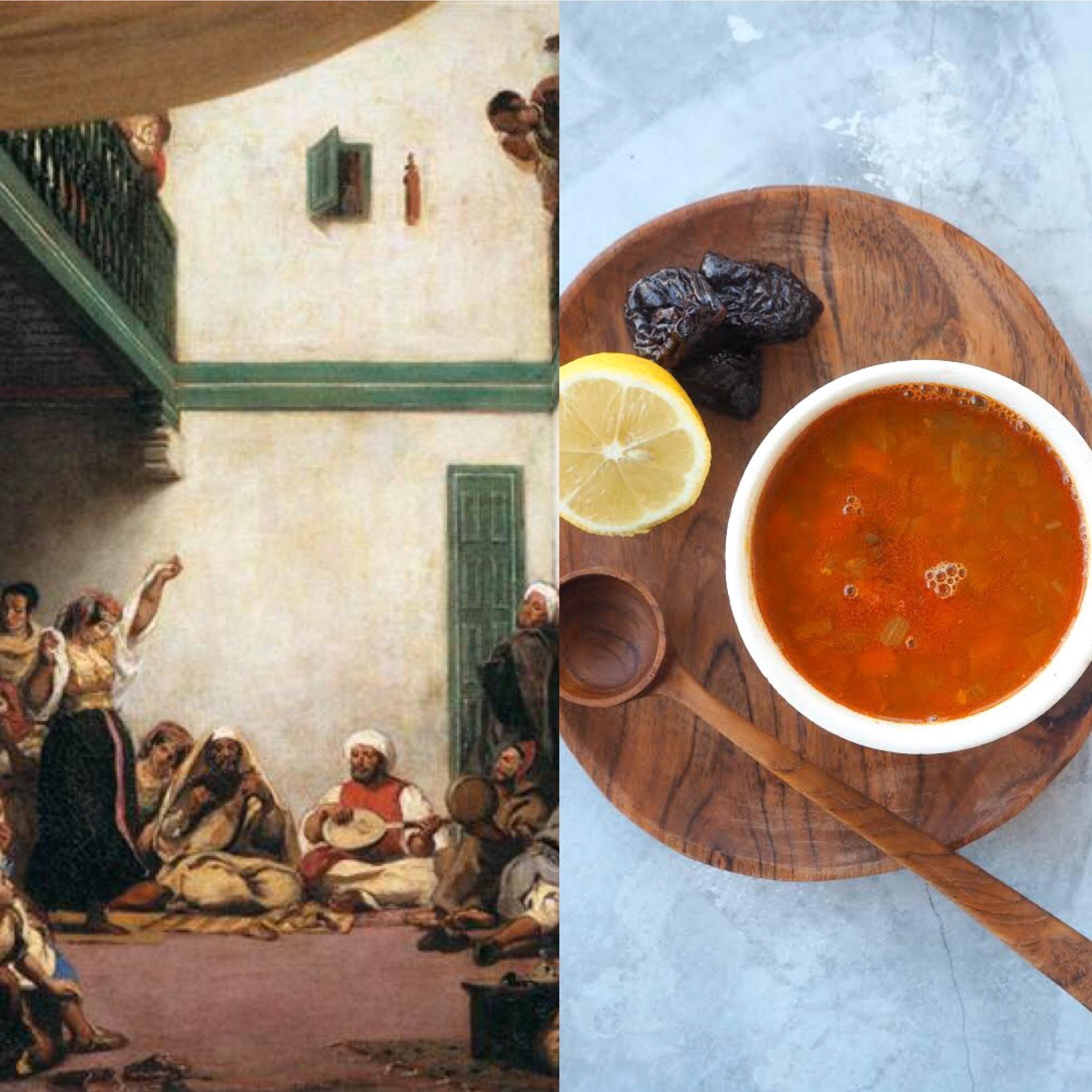 Delacroix, Marràqueix i  la Sopa Harira (CAT)