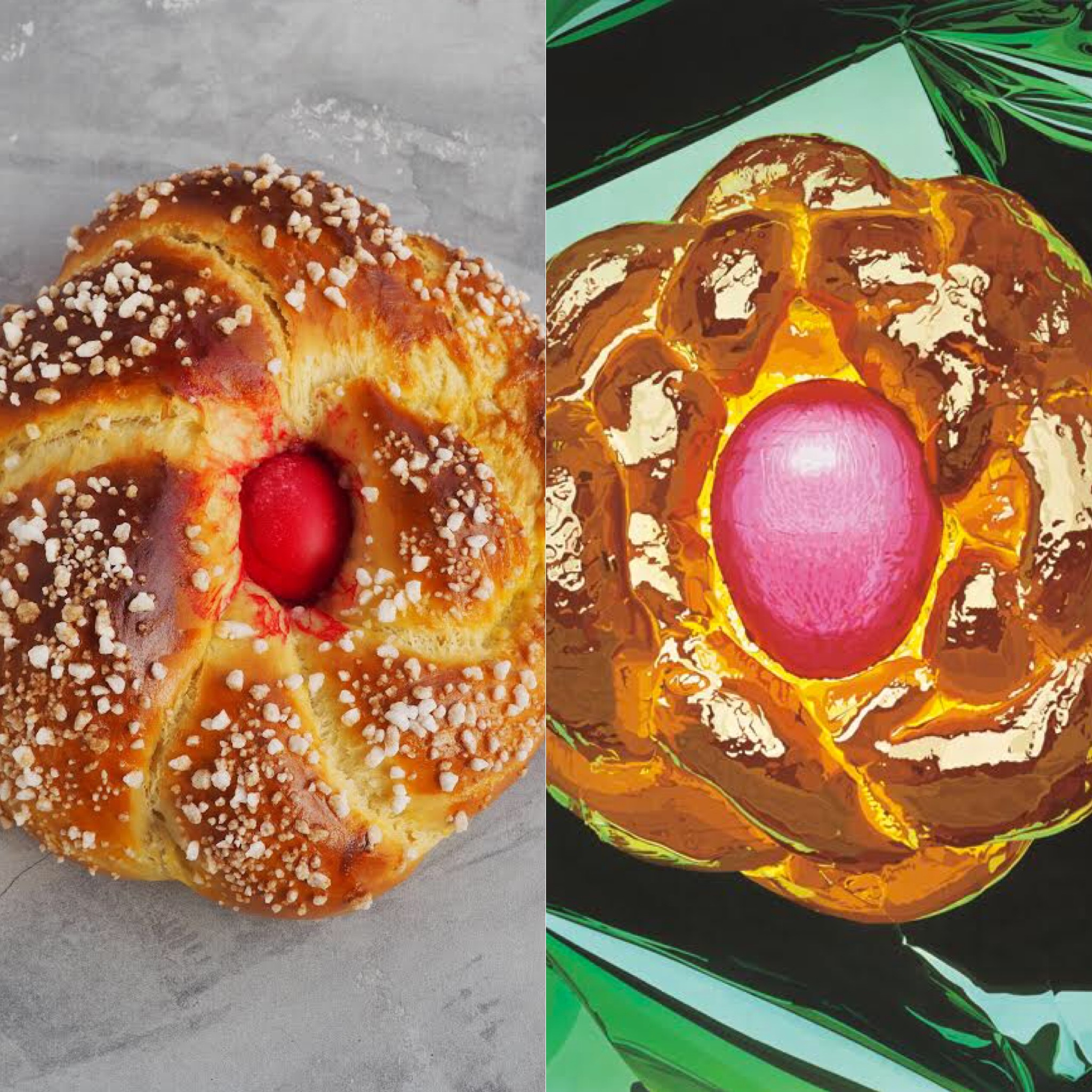 Jeff Koons y la Mona de Pascua (ESP)