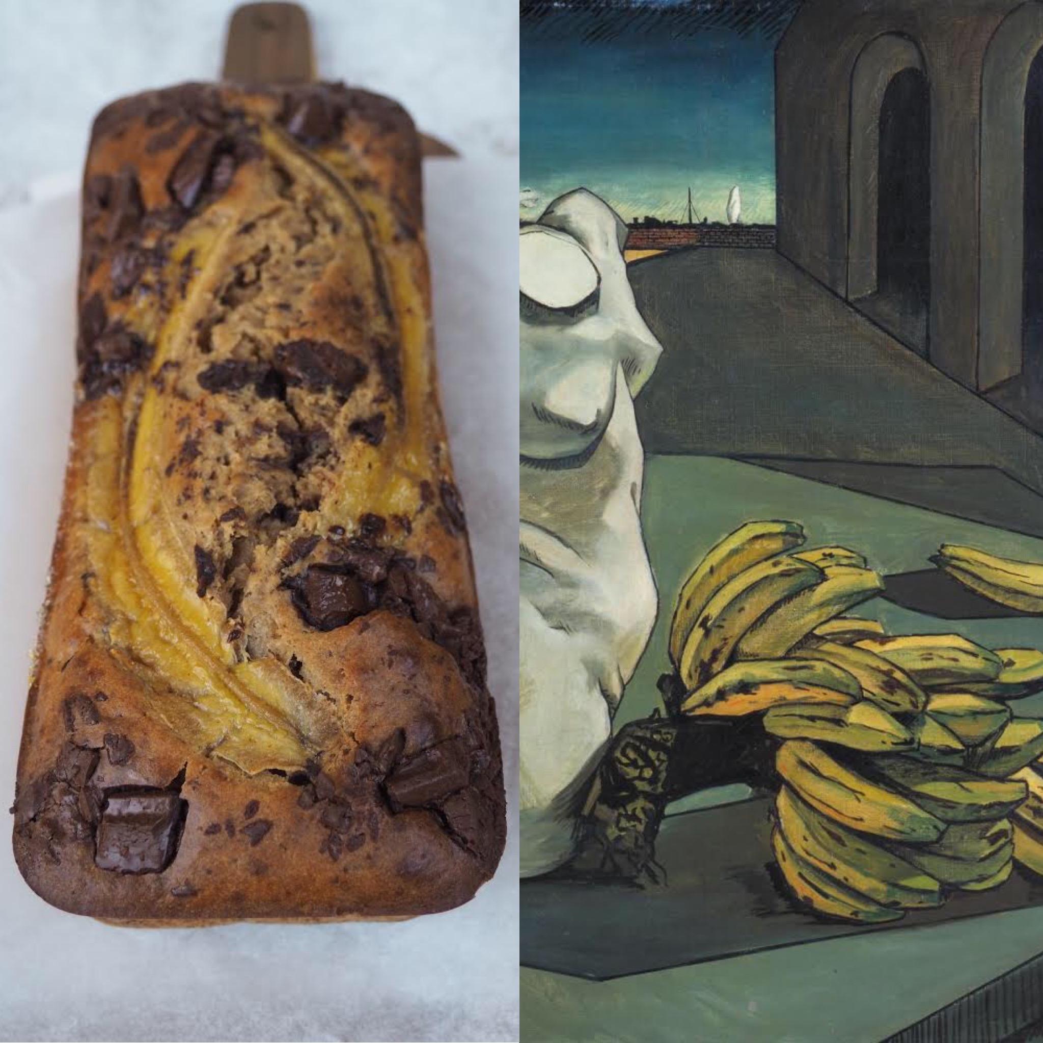 La incertesa del  poeta, de Chirico i el banana bread (CAT)