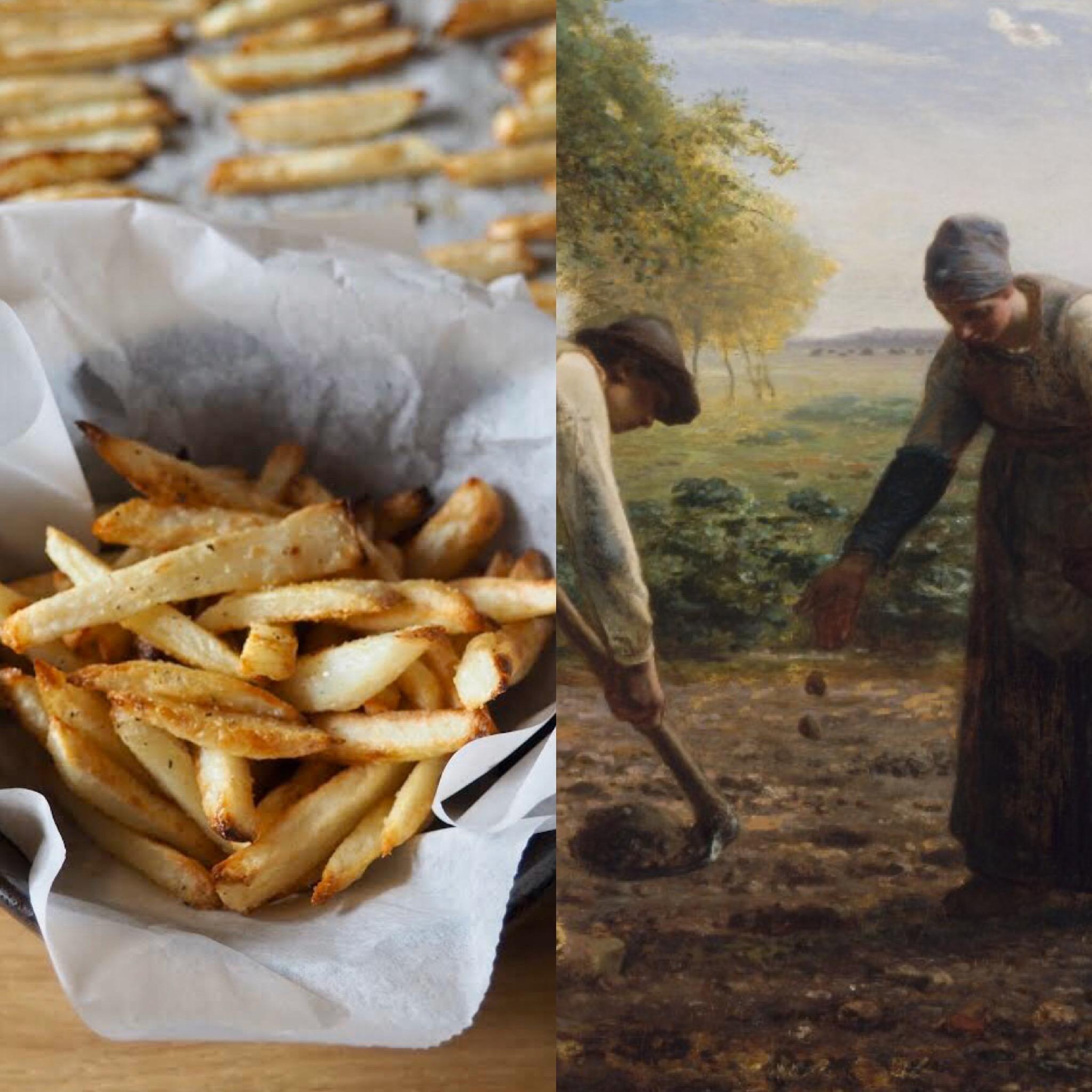 Los campesinos de Millet y la mejor receta de patatas (ESP)