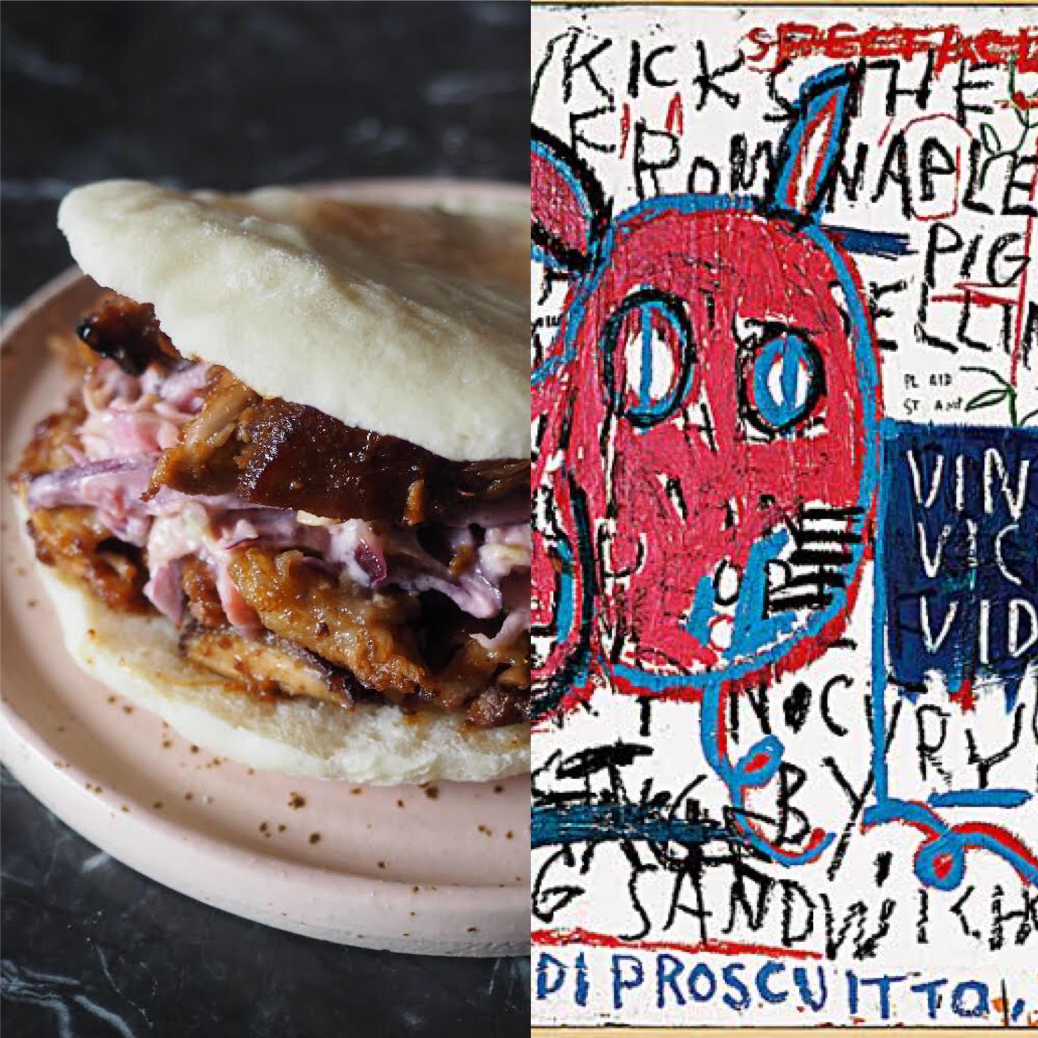 Basquiat, el hombre de Nápoles y el sandwich de costillas de cerdo (ESP)