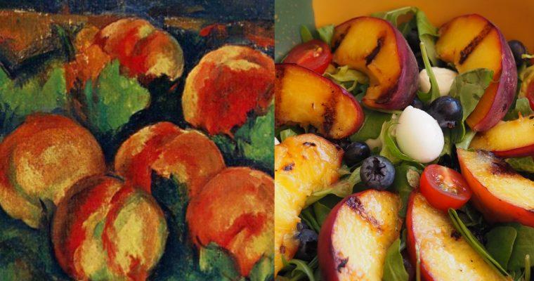 Paul Cezanne I: l'amanida estiuenca de melicotó (CAT)