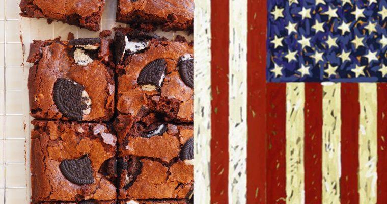 Jasper Johns, las banderas y el brownie de Oreo