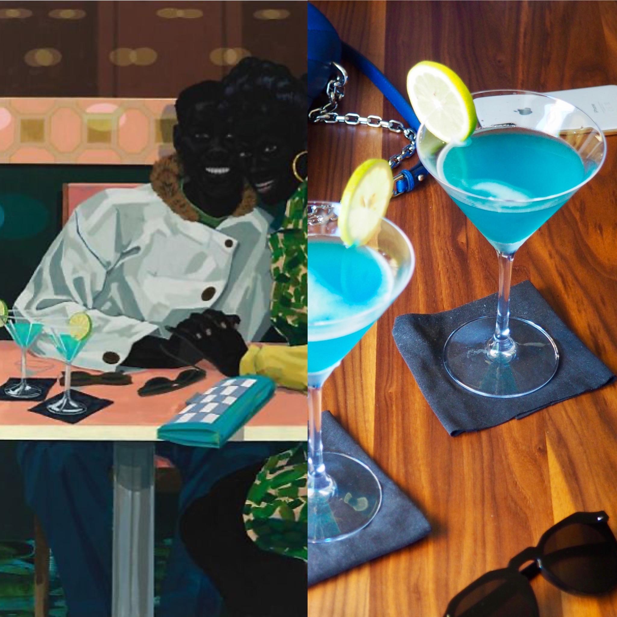 Kerry James Marshall i el cocktail blau