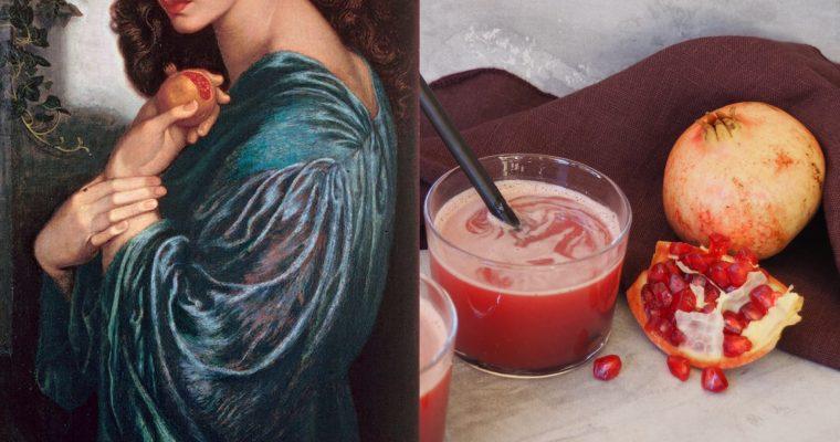 Dante Gabriel Rossetti, Proserpina y el zumo de granada (ESP)