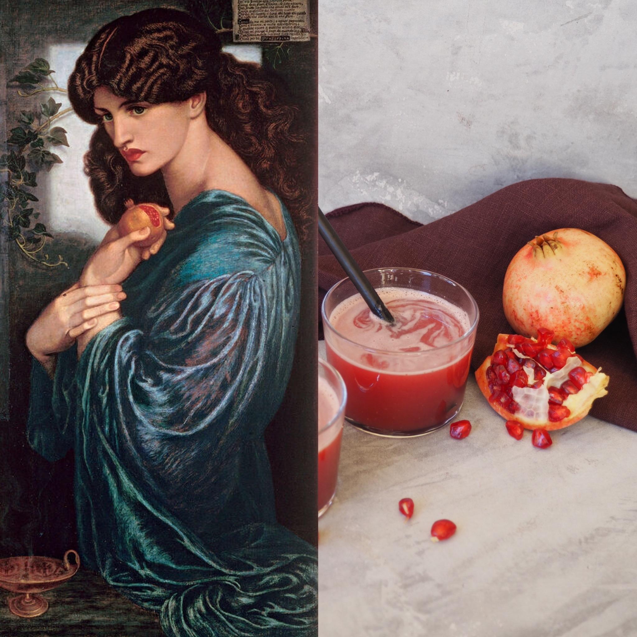 Dante Gabriel Rossetti, Proserpina i el suc de magrana (CAT)