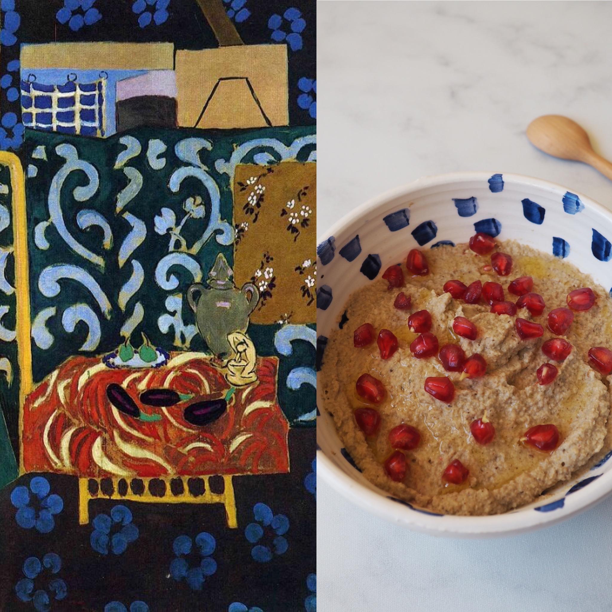 Matisse y el mutabal de berenjenas (ESP)