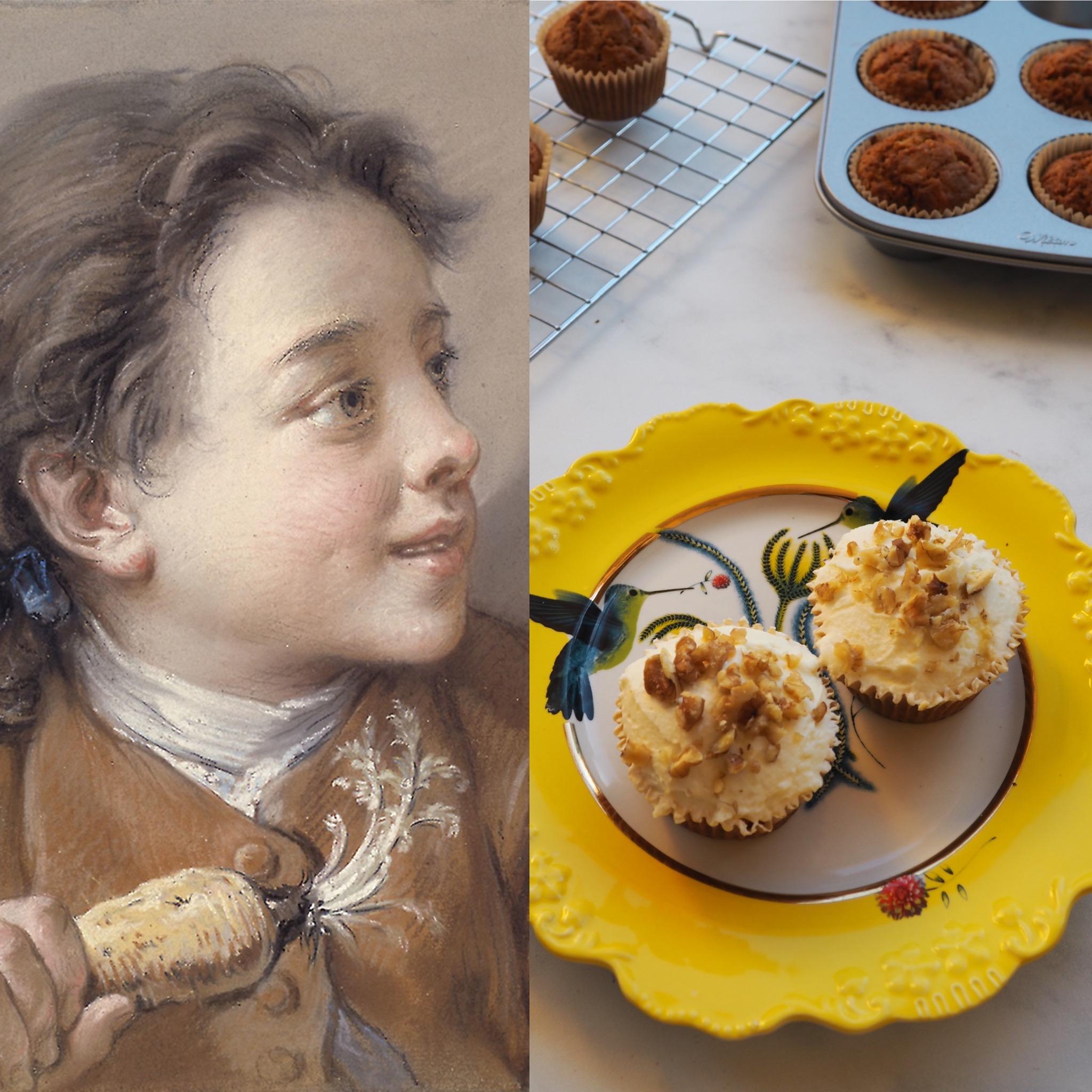 François Boucher y los cupcakes de zanahoria