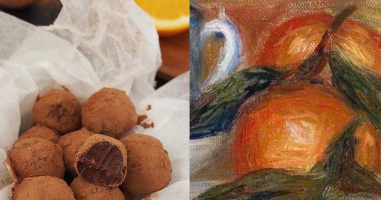 Renoir y las trufas de chocolate y naranja (ESP)