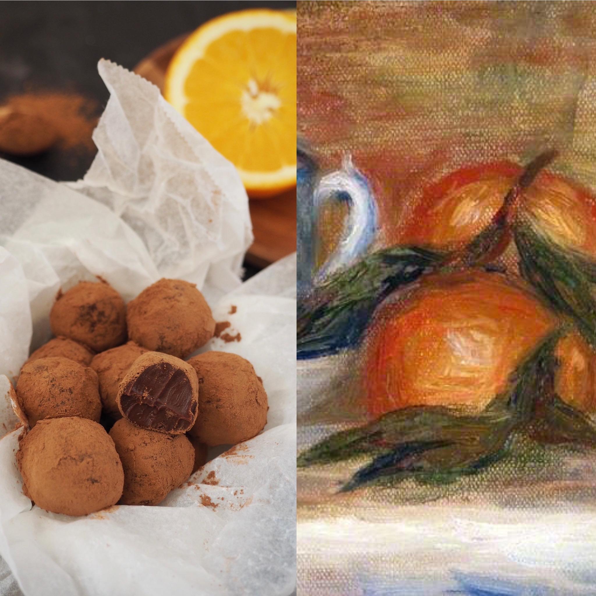 Renoir i les trufes de xocolata i taronja (CAT)