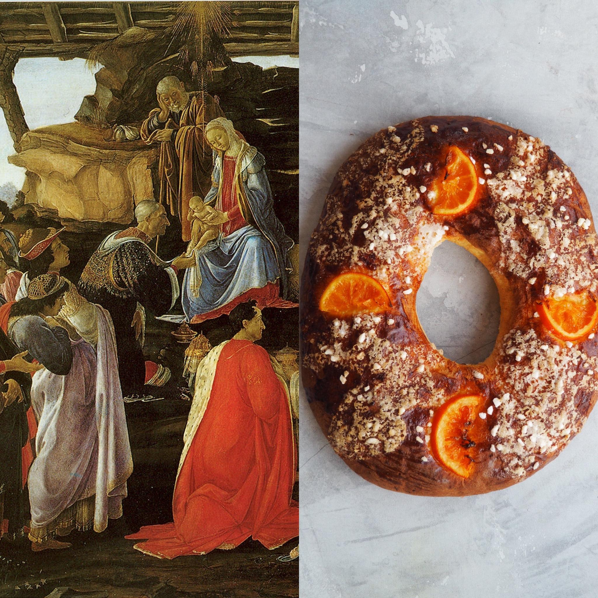 Botticelli, la adoración y el roscón de reyes II (ESP)