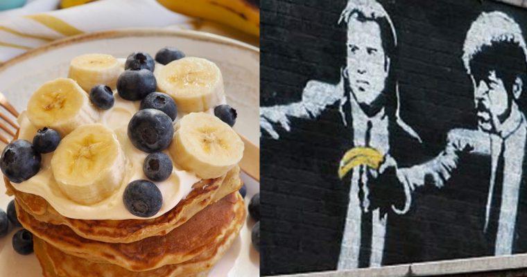Banksy, Pulp Fiction y los pancakes de plátano (ESP)