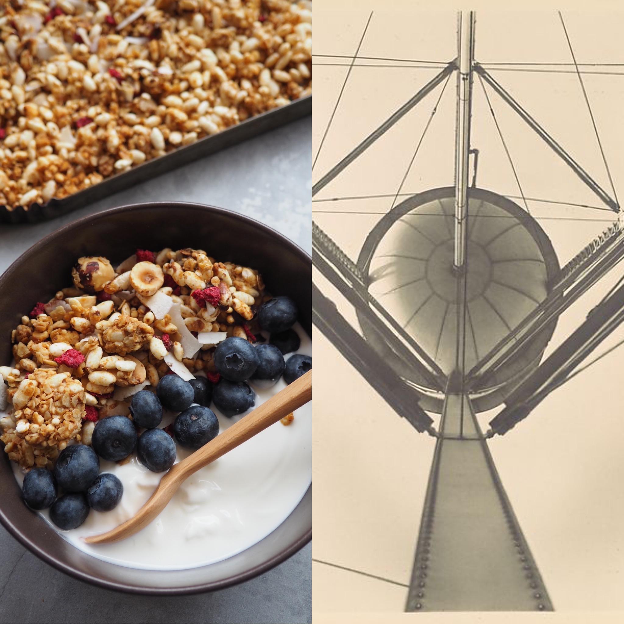 Imogen Cunningham, les torres de blat i la millor granola casolana (CAT)