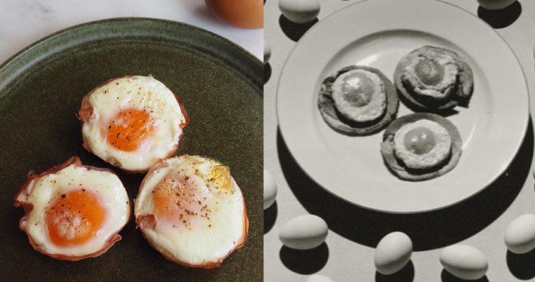 Ralph Steiner, el anuncio publicitario y las cestitas de huevo y jamón (esp)