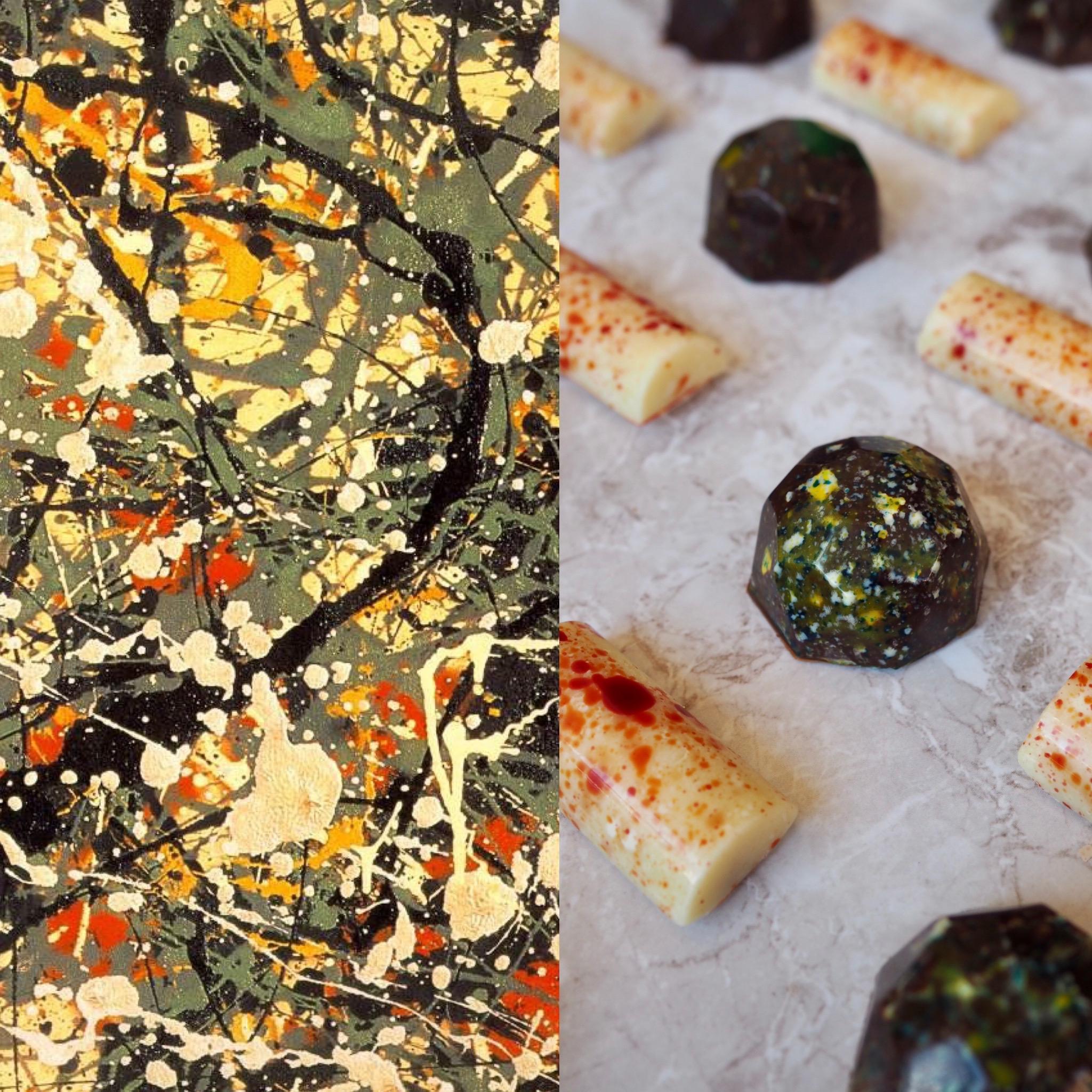 Jackson Pollock, el expresionismo abstracto y los bombones de colores (ESP)