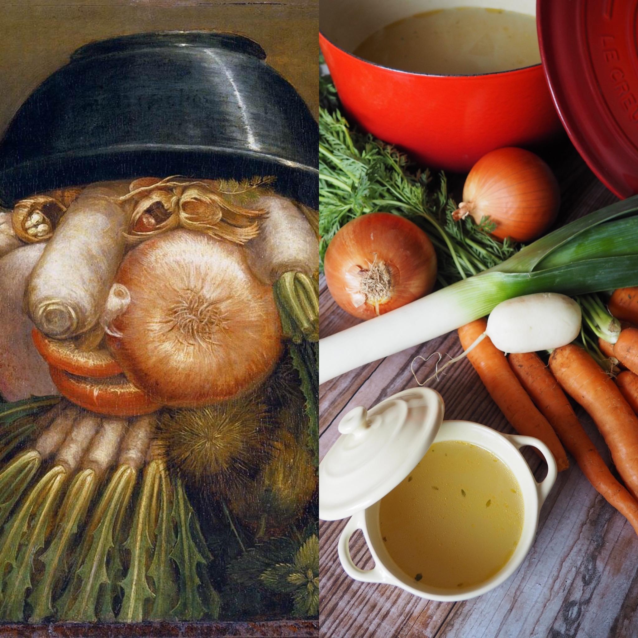 Arcimboldo (I): El manierismo y el caldo de verduras (ESP)