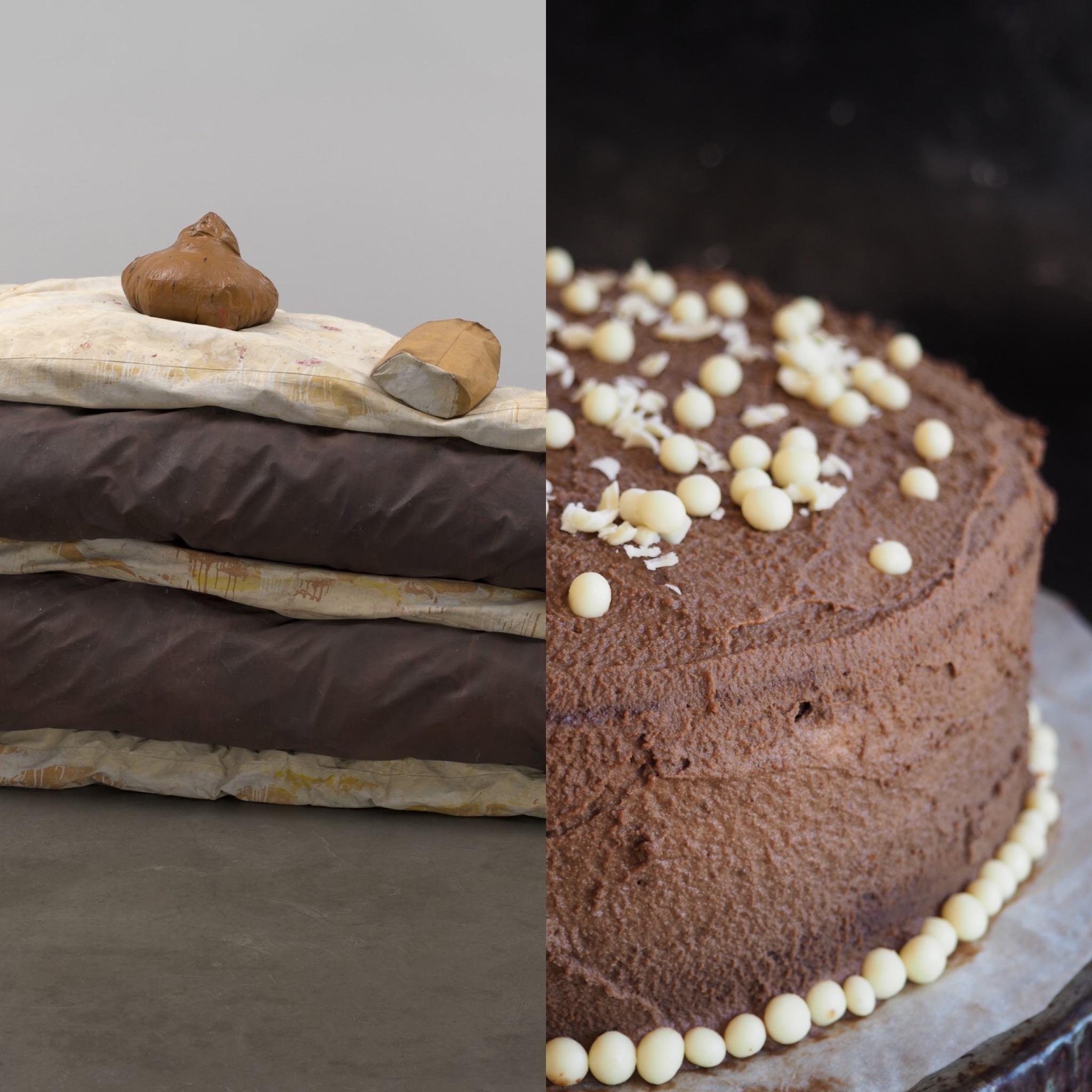 Claes Oldenburg, el floor cake y la tarta de chocolate esponjosa (ESP)