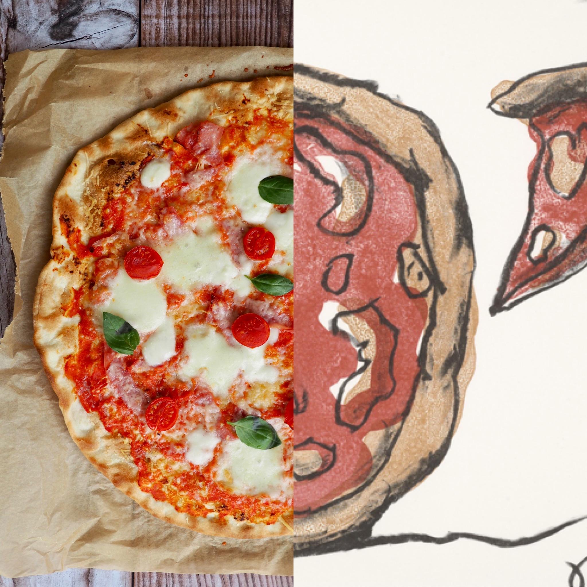 Claes Oldenburg y la mejor pizza casera! (ESP)
