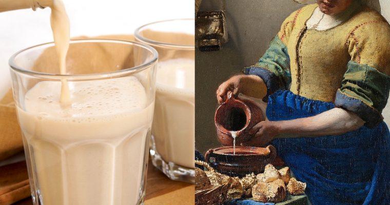 Vermeer, la lechera y la leche preparada (ESP)