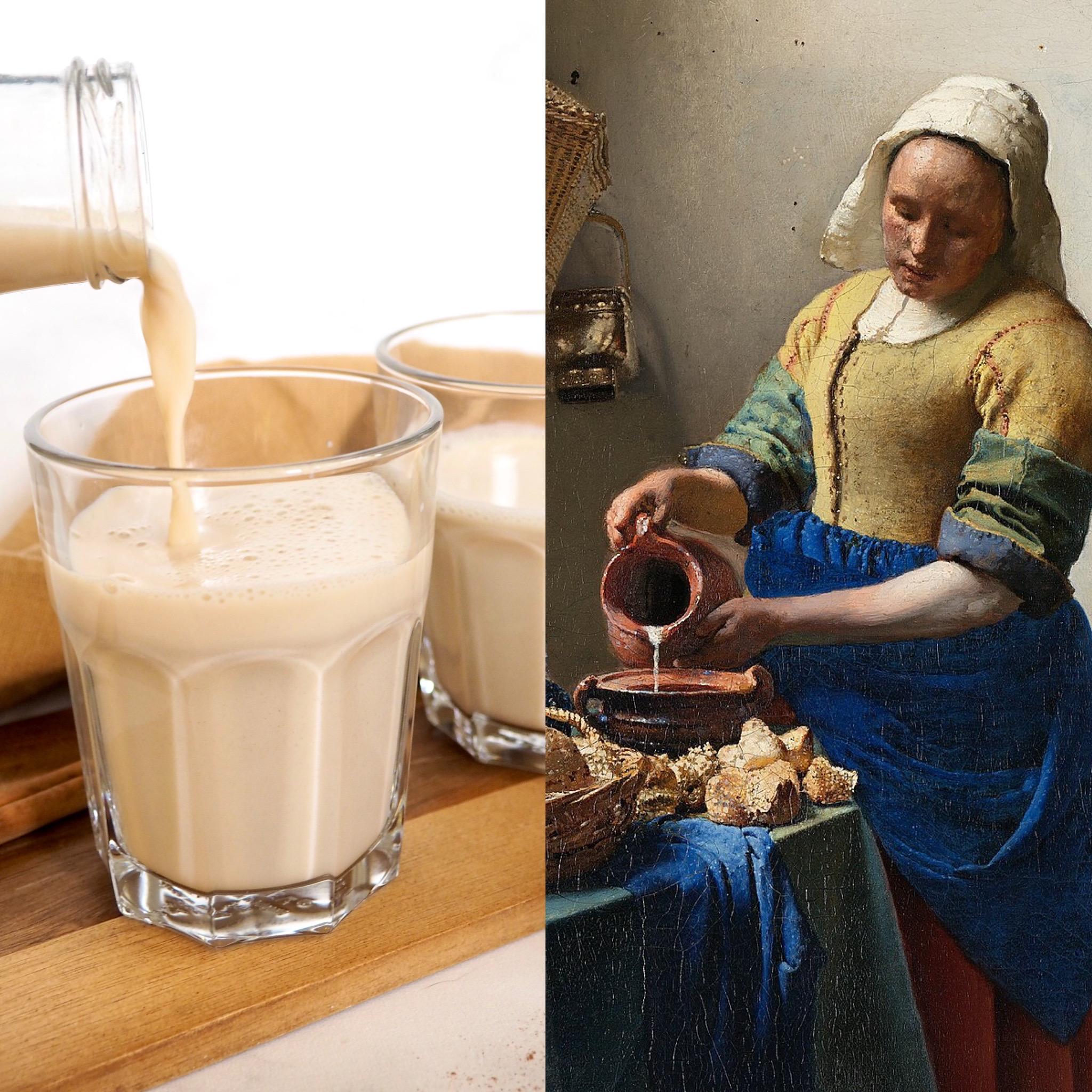 Vermeer, la lletera i la llet preparada (CAT)