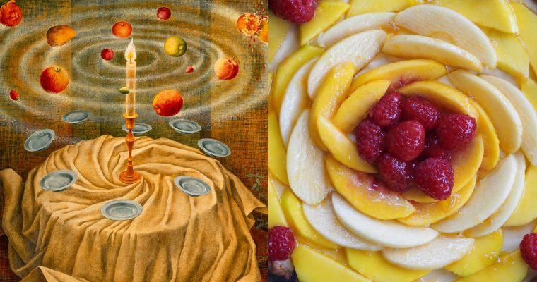 Remedios Varo II: La naturaleza muerta resucitando y la tarta de frutas (esp)